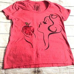 Disney Snow White top red size XL